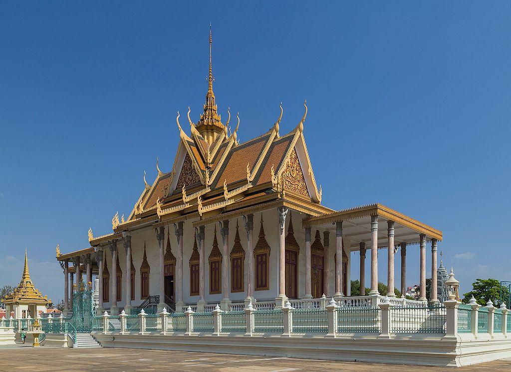 Chùa vàng chùa bạc Phnompenh