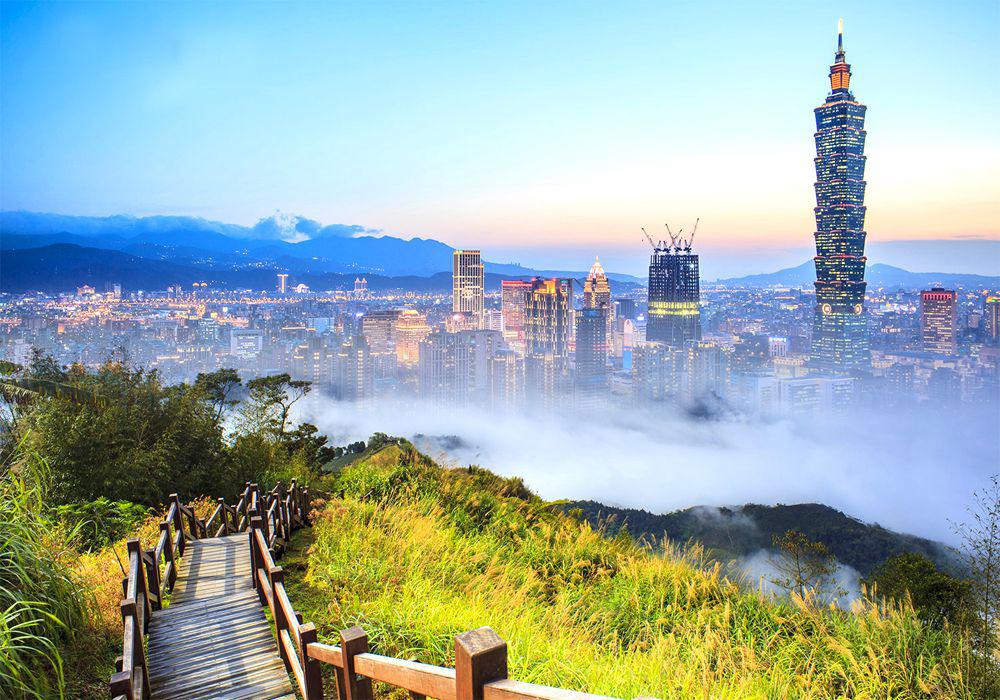 Đài Loan: Đài Bắc – Cao Hùng – Nam Đầu – Đài Trung – Đào Viên