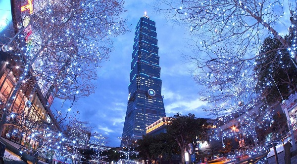 Tòa tháp Taipei 101