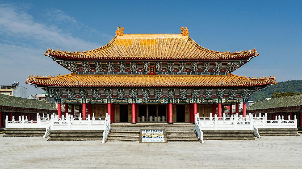 du lịch Đài Loan - miếu khổng tử