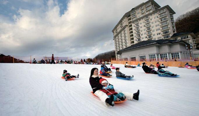 Trượt tuyết Elysian Gangchon